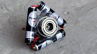 How To Make A Motor Fidget Spinner - DIY