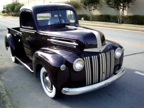 1947 Ford Pickup in action