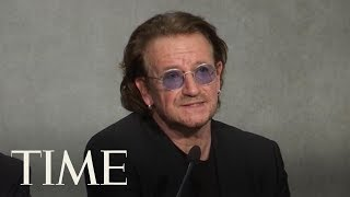 Bono Says Pope Francis Is