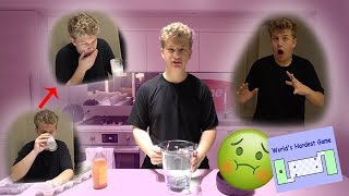 Disgusting Drink Challenge (The Worlds Hardest Game)