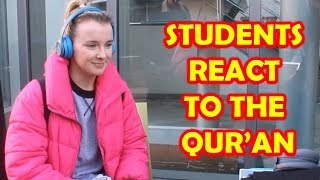 Non-Muslim Students React To The Qur