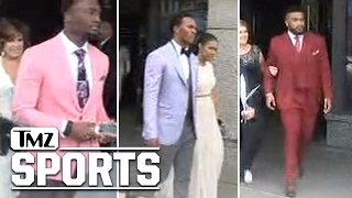 NFL Draft Prospects Show Crazy Fashion Swag Before Big Night | TMZ Sports