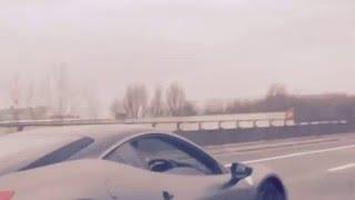 Ferrari 458 Gaz Geordie shore supercar sound