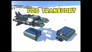 Outposts Transporter (Thunderbird 2) - Space Engineers