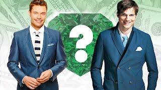 WHO'S RICHER? - Ryan Seacrest or Ashton Kutcher? - Net Worth Revealed!