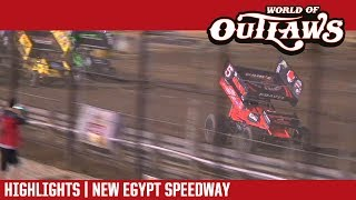 World of Outlaws Craftsman Sprint Cars New Egypt Speedway May 24, 2017   HIGHLIGHTS