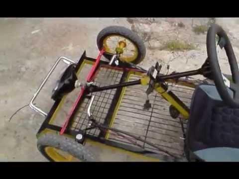 Go Kart. como hacerse uno artesano y moncaero