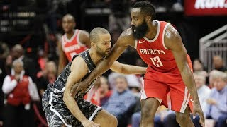 Rockets Blowout Spurs! Warriors Clinch Playoff Berth! 2017-18 Season