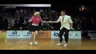 Grzegorz i Agnieszka 3 place final fast World Championship Boogie Woogie Stuttgart 2011