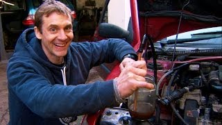 How to get diesel from waste plastic - Bang Goes the Theory - Series 7 - BBC
