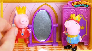 Best Preschool Learning Video for Toddlers Princess Peppa Pig Castle Adventure Toys for Kids!