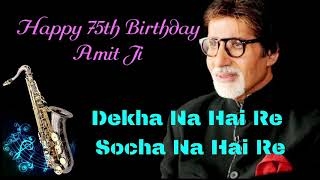 #228:-Dekha Na Hai Re Socha Na Hai Re || Bombay To Goa || Best Bollywood Saxophone Instrumental