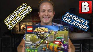 Lego Batman The Joker Steam Roller DC Comics Set 76013   Unboxing Building Review