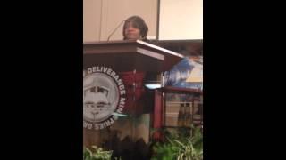 Lisa Riley speaking at GWOD 002