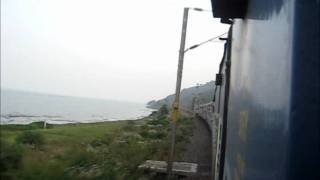 Falaknuma Express Races Past Chilka Lake and the Eastern Ghats in Orissa at 110 kmph