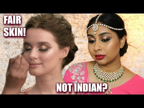 Xxx Mp4 I TRIED FOLLOWING A CONTROVERSIAL INDIAN BRIDAL MAKEUP TUTORIAL 3gp Sex