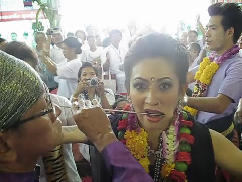 กุมารเทพเขาคิชฌกูฏไหว้ครู หญิงคนสวย ลองของตรีเพชรไทยแลนด์