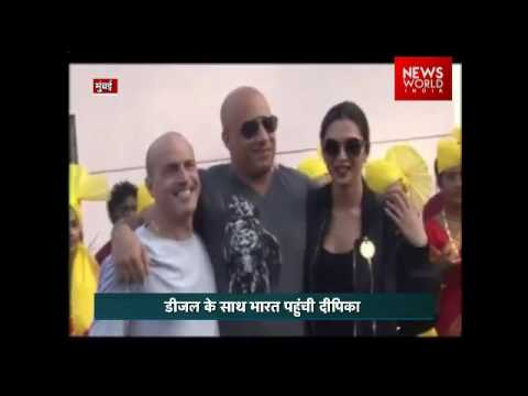 Xxx Mp4 Desi Welcome As Vin Diesel Arrives With Deepika For XXx India Premier 3gp Sex