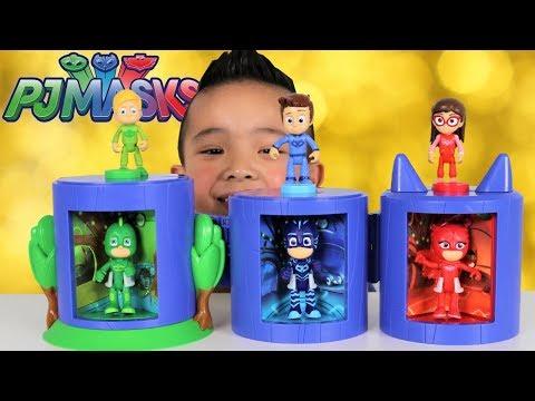 Xxx Mp4 PJ Masks Transforming Headquarters Toys With Greg Connor Amaya Catboy Gekko Owlette Ckn Toys 3gp Sex