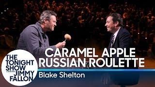 Caramel Apple Russian Roulette with Blake Shelton