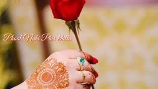 Sukh Gayi Jo Dali uspe Phool Nahi khilta😘sad love 🎶 song whatsapp stutas 😍