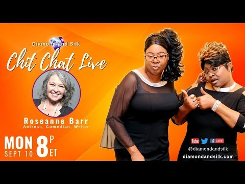 Xxx Mp4 Diamond And Silk Chit Chat Live Guest Roseanne Barr 3gp Sex