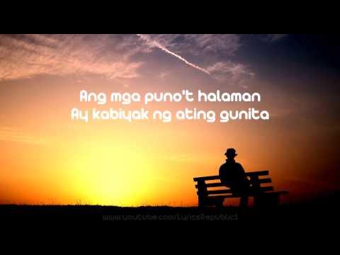 Kanlungan By Noel Cabangon Lyrics