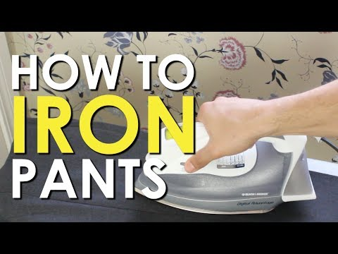 How to Iron Dress Pants   The Art of Manliness