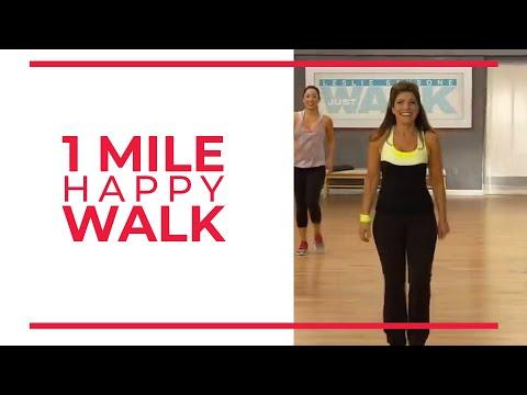 1 Mile Happy Walk Walk at Home 1 Mile