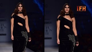 Vaani Kapoor ramp walks   Amazon India Fashion Week 2017