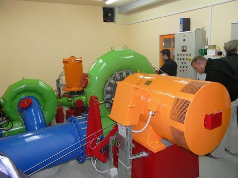 SIAPRO www.hydro-electricity.eu, Complete Design of Small Hydropower plant, 3X Francis Turbines