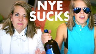 Why New Year's Eve is always TERRIBLE