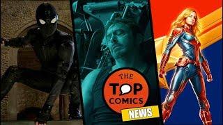 El trailer que no viste de Far From Home l Avengers Endgame ¿Título falso? l Captain Marvel