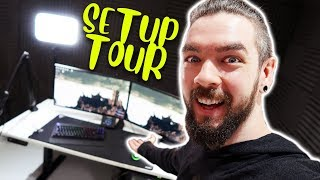 Jacksepticeye's Office Setup Tour