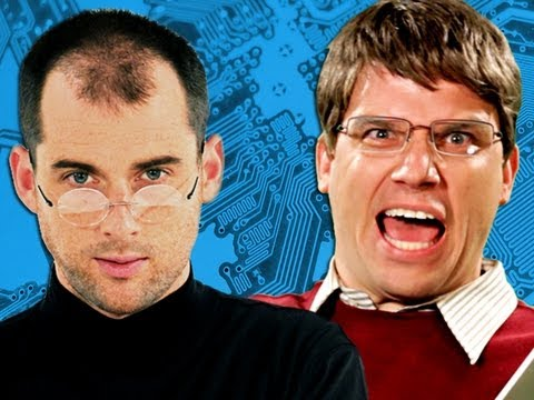 Download Steve Jobs vs Bill Gates.  Epic Rap Battles of History Season 2.