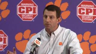 TigerNet.com - Dabo Swinney Clemson Media Day Press Conference - Part 1