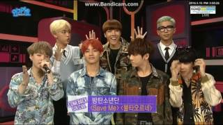 160515 BTS Backstage Interview Inkigayo