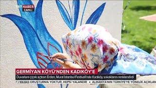 Germiyanlı Nuran Teyze Kadıköy Duvarlarını da Renklendirdi - TRT Haber