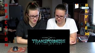 Transformers - The Last Knight OFFICIAL TRAILER Reaction and Review