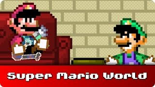 Crack | Censored | Super Mario World