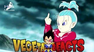 Vegeta Reacts To Dragon Ball Z   Fukkatsu No F   Final Battle Leaked!!! parody