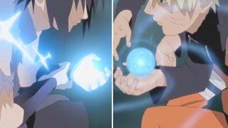 The Story of Naruto vs Sasuke