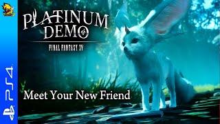 [Ps4] Live : Platinum Demo - Final Fantasy XV