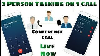 How To Make  A Conference Call In Android Phones