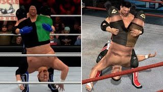 WWE 2K17 LAST-GEN vs TNA IMPACT - BIG Names That Featured In Both! (Part 3)