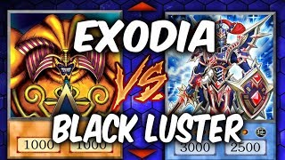 EXODIA VS BLACK LUSTER SOLDIER (Yugioh Competitive Duel)