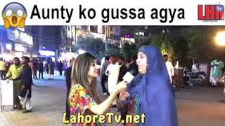 Angry Aunty with TV Anchor