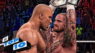 The Rock Top 10 Greatest Wins In WWE ( WWE 2K15/WWE2K16/WWE 2K17 )