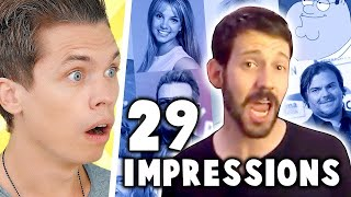 29 Celebrity Impressions, One Song (My Review)