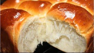 طريقه عمل خبز الحليب الغنى (مفيد للأطفال)مطبخ ساسي